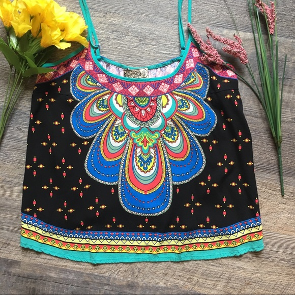 Flying Tomato Tops - Flying Tomato Boho Style Crop Top